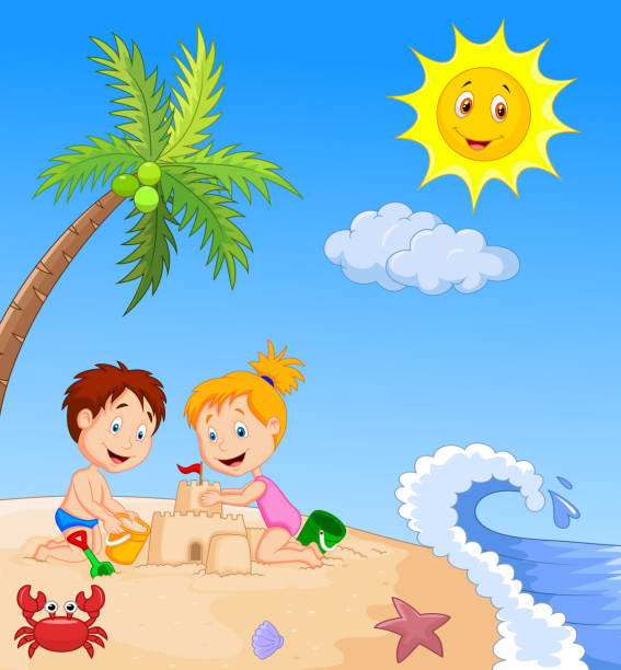 Best Beach Boys Illustrations, Royalty-Free Vector ...