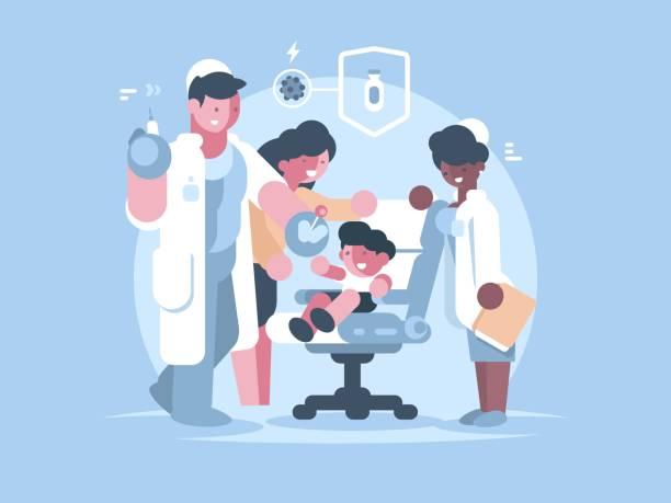 Vaccine stock illustrations