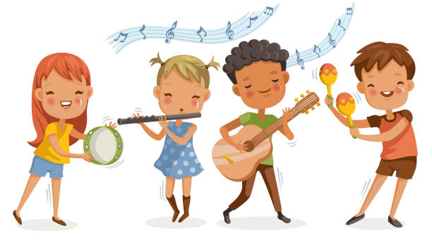 Image result for boy guitar  playing school clip art
