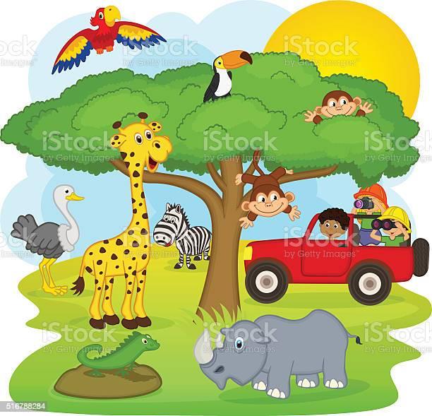 Children on a safari tour vector id516788284?b=1&k=6&m=516788284&s=612x612&h=h9owmlovrozpwjxdvfyubk6laah393zwksje9jfdlpm=