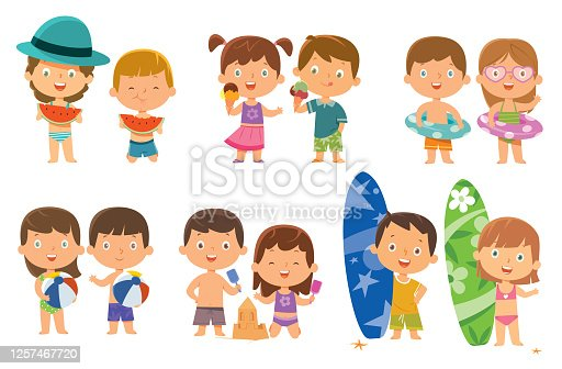 istock Children Play in Sand 1257467720