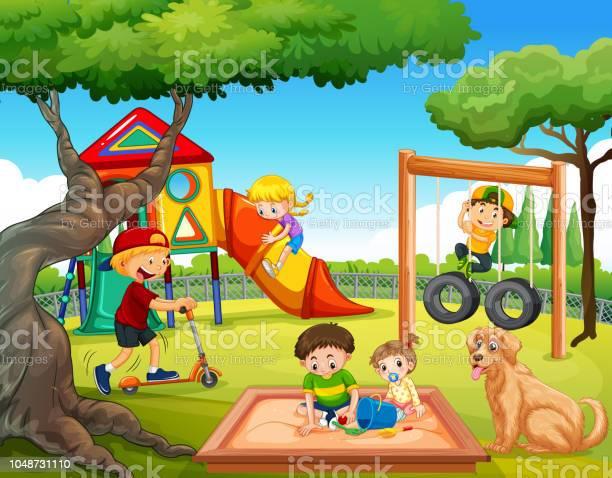 Children playing at playground vector id1048731110?b=1&k=6&m=1048731110&s=612x612&h=atnmpunqdwfzdyxgxjxiogvw0ancuqbenmoeharacoe=