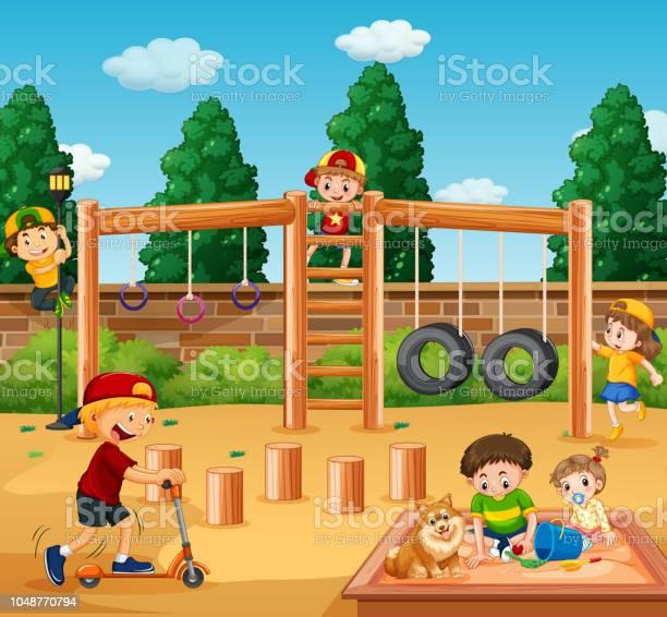 Children playing at playground vector id1048770794?b=1&k=6&m=1048770794&s=612x612&h=bh7nk5idc2arxqqaj7 x hmh 1owjj5uf7 2fnrvh0i=