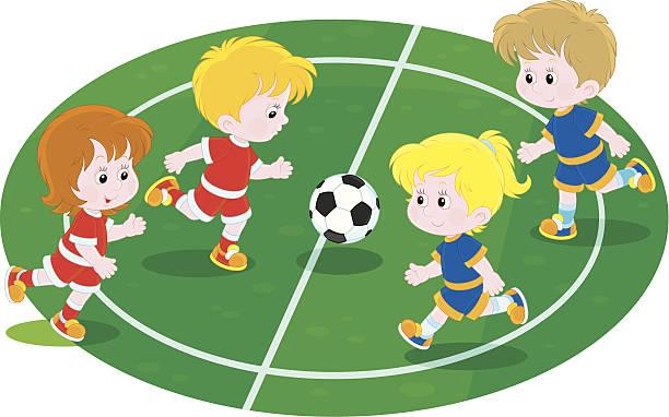 Kids Soccer Clipart - Kids Playing Soccer Clipart ... |Kids Playing Soccer Clipart