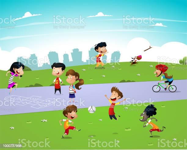 Children playing outside vector id1000237958?b=1&k=6&m=1000237958&s=612x612&h=p7ygyj7xcbpcivh6sgj xf0viilfrt31rjhjzscusqc=