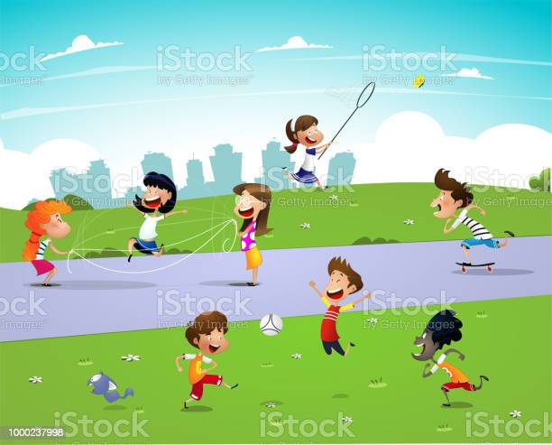 Children playing outside vector id1000237998?b=1&k=6&m=1000237998&s=612x612&h=hequrj0aaxqt aldfnp pedppmqfvu7evtndnr7knic=