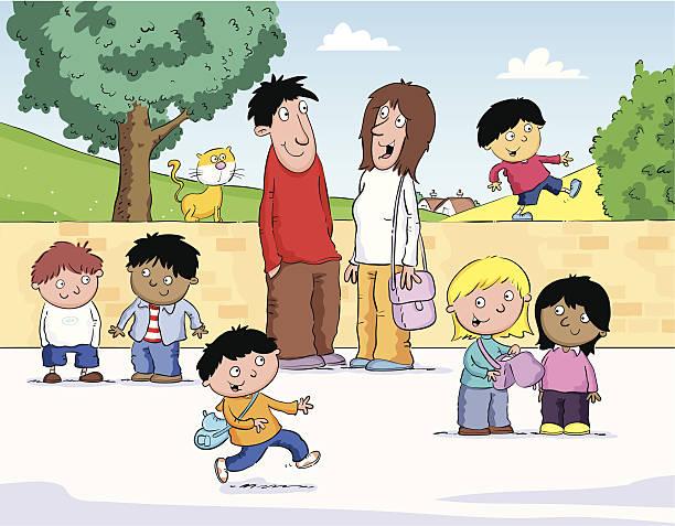 illustrations, cliparts, dessins animés et icônes de enfants jouant - nuage 6