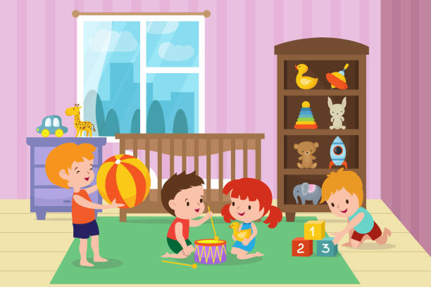 Best Toy Shelf Illustrations, Royalty-Free Vector Graphics ...