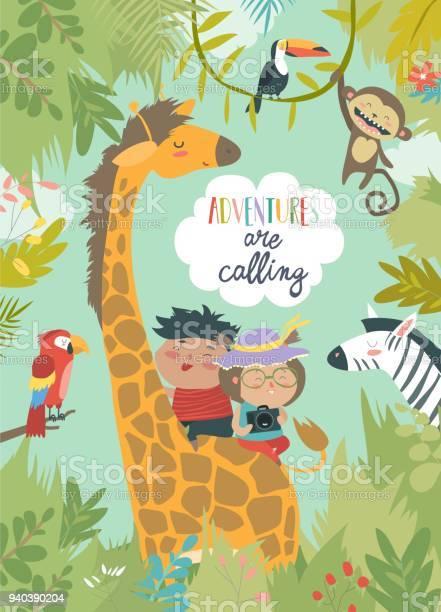 Children riding giraffe vector id940390204?b=1&k=6&m=940390204&s=612x612&h=yuc4ohwapsjb 0 0zbkhyqo mjhprjmw28g66ywozww=