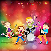 Children Rock Band