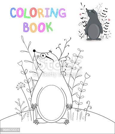 ᐈ Imagen De Los Niños S Libro Con Animales De Dibujos