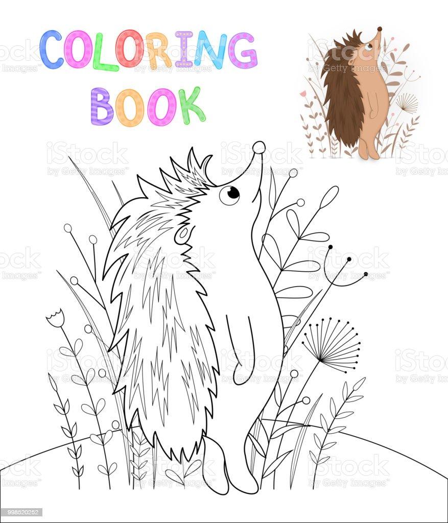 Boyama Kitabi Karikatur Hayvanlar Ile Cocuk S Egitim Gorevleri