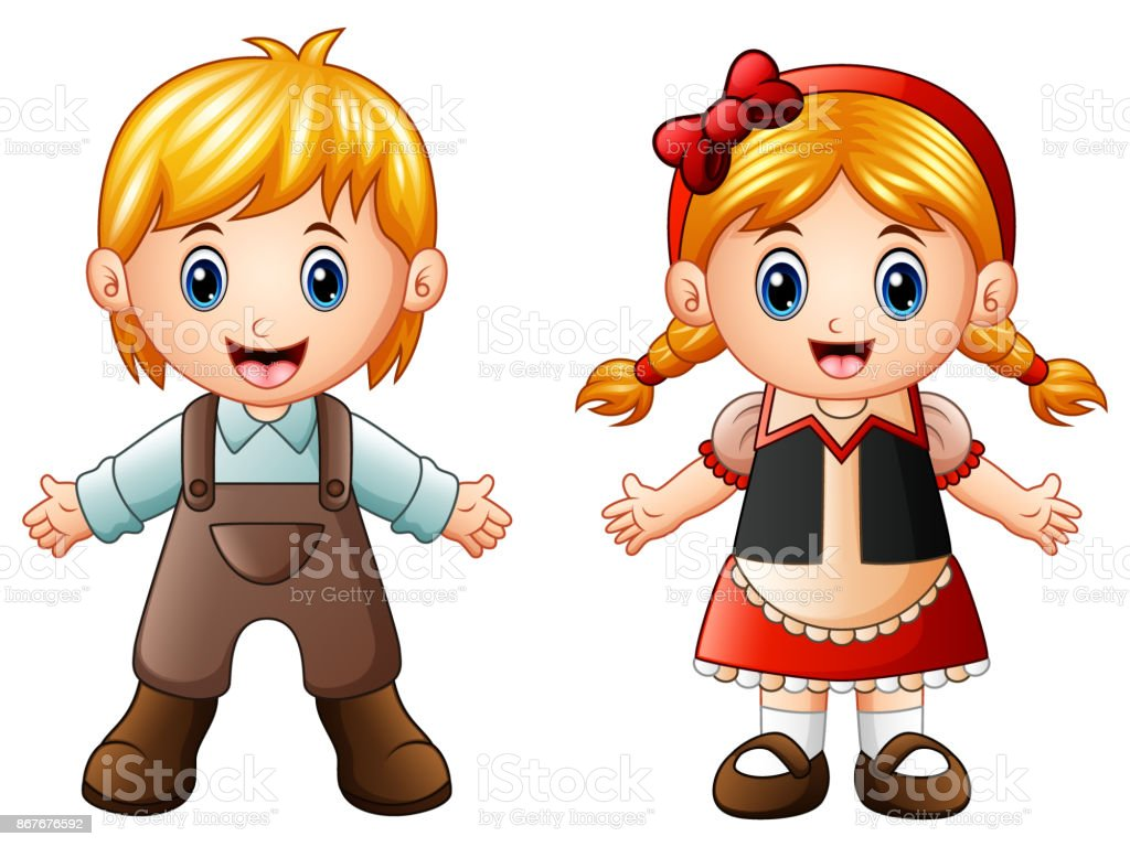 children story hansel and gretel stock vector art more images of rh istockphoto com hansel and gretel house clipart hansel and gretel clipart black and white