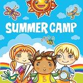 Children Summer camp series