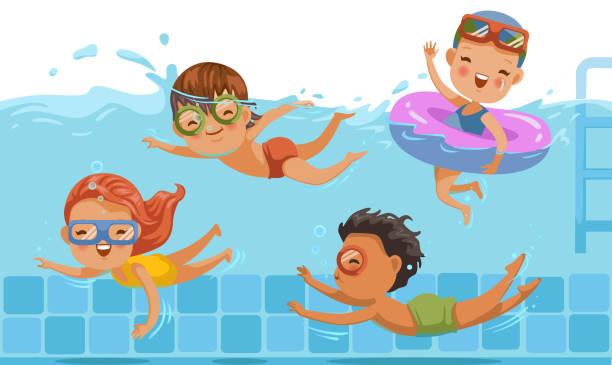 Swimming Pool Vector Art Graphics Freevector Com