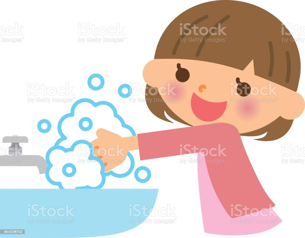 royalty free washing hands clip art vector images illustrations rh istockphoto com wash hands clipart wash hands cartoon clipart