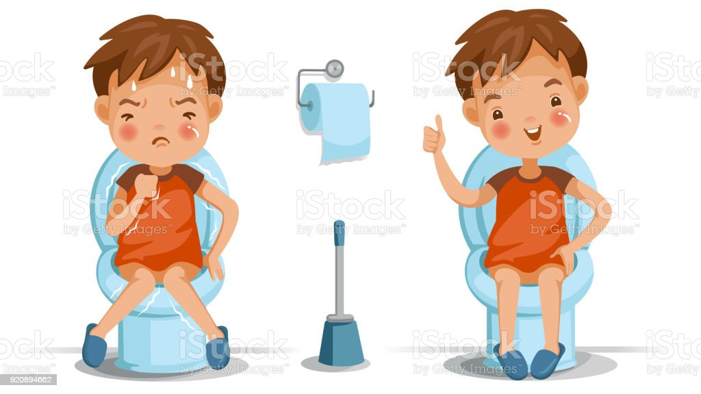 Children Reading Stock Vector Art More Images Of Baby: Children Toilet Seat Stock Vector Art & More Images Of
