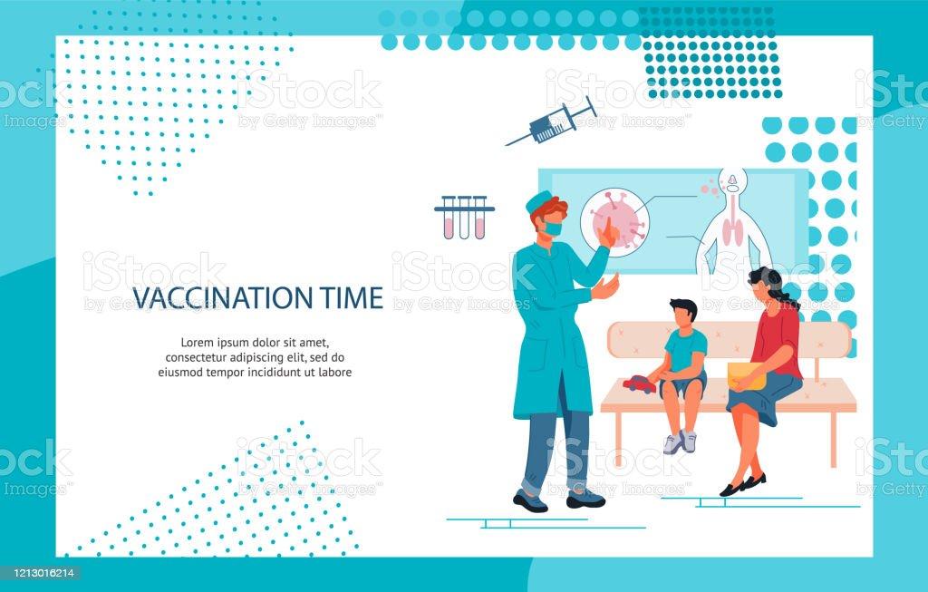 Children Vaccination And Immunization Banner Stock Illustration Download Image Now Istock