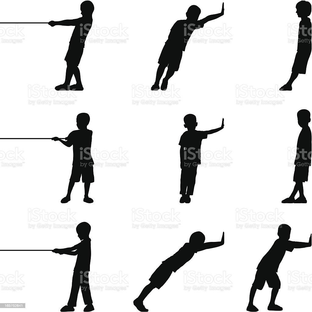Children royalty-free children stock vector art & more images of boys