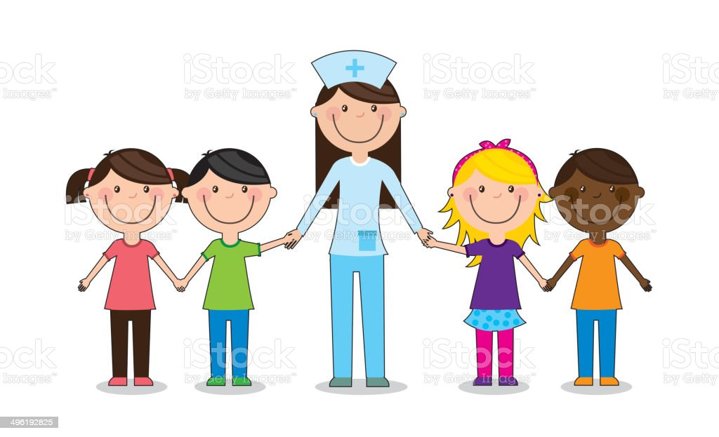 royalty free nursing school clip art vector images illustrations rh istockphoto com school nurse clipart free school nurse clipart images