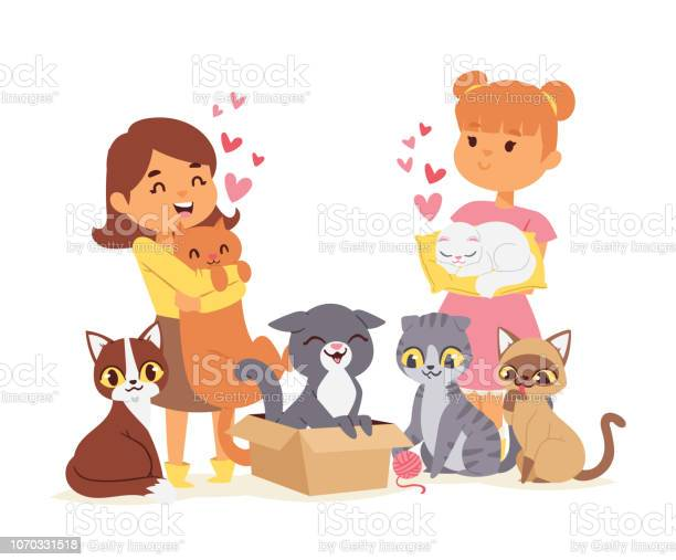 Children with pets adopt friendship concept vector illustration love vector id1070331518?b=1&k=6&m=1070331518&s=612x612&h=hueep v6yr 91umy5nqnmvasgvt14c1hq4hn s4ag5m=
