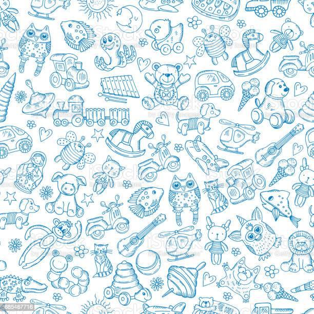 Children with toys seamless pattern with vector hand drawn vector id685467716?b=1&k=6&m=685467716&s=612x612&h=93qmnhejzlpfilaod7rwufddqivojxfwhpz3ugyurpw=