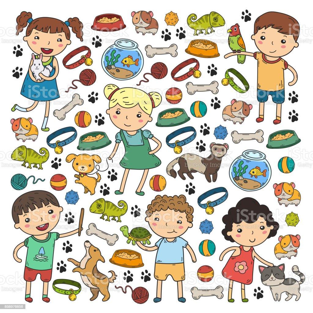 犬ハムスター猫動物食品アクセサリー子供の子供動物園ペット ショップ
