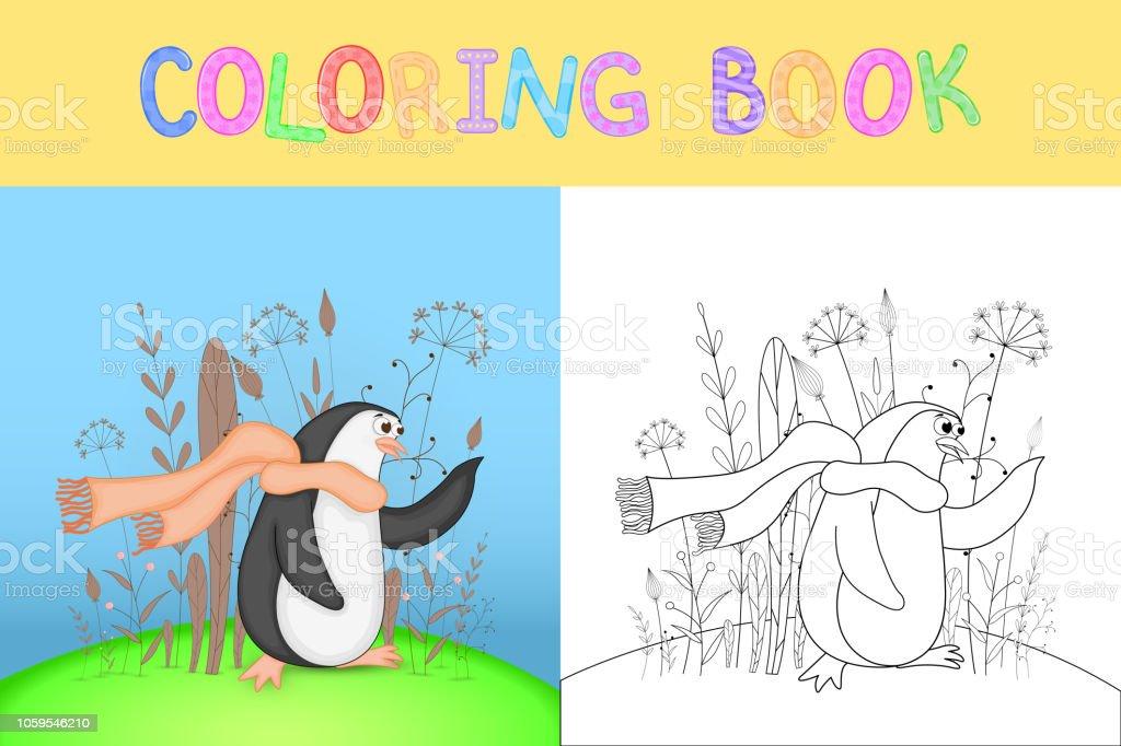 Cocuk Boyama Kitabi Karikatur Hayvanlar Ile Okul Oncesi Cocuklar