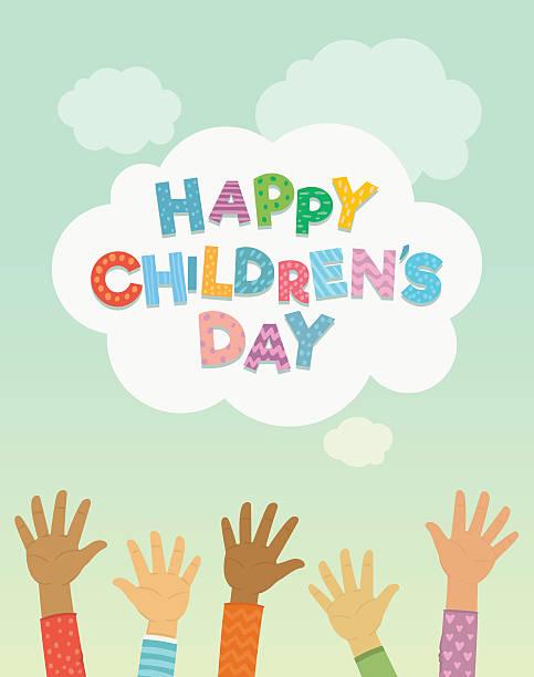 stockillustraties, clipart, cartoons en iconen met children's day vector background - kinderdag