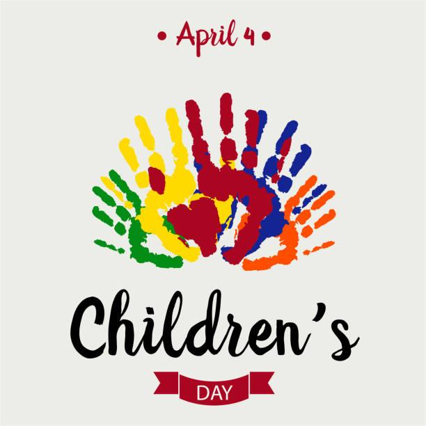 stockillustraties, clipart, cartoons en iconen met dag van de kinderen - kinderdag