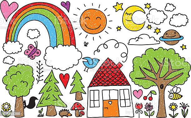 Childrens doodle vector id524541355?b=1&k=6&m=524541355&s=612x612&h=0chmzkjyllj oo6xeouzugcpmr2toxx5wbiea741yso=