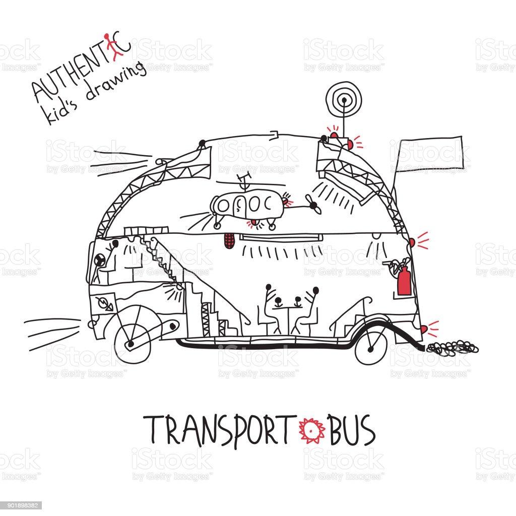 Vetores De Desenhos De Criancas Carro De Mao Desenhada Infantil