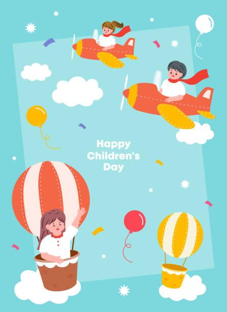 stockillustraties, clipart, cartoons en iconen met de illustratie van kinderen. illustratie voor onderwijsactiviteiten met vrienden. - kinderdag