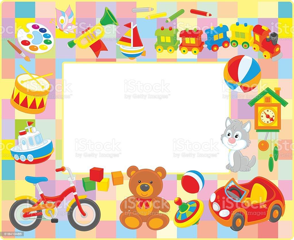 Ilustración de Cuadro Marco Para Niños y más banco de imágenes de 12 ...