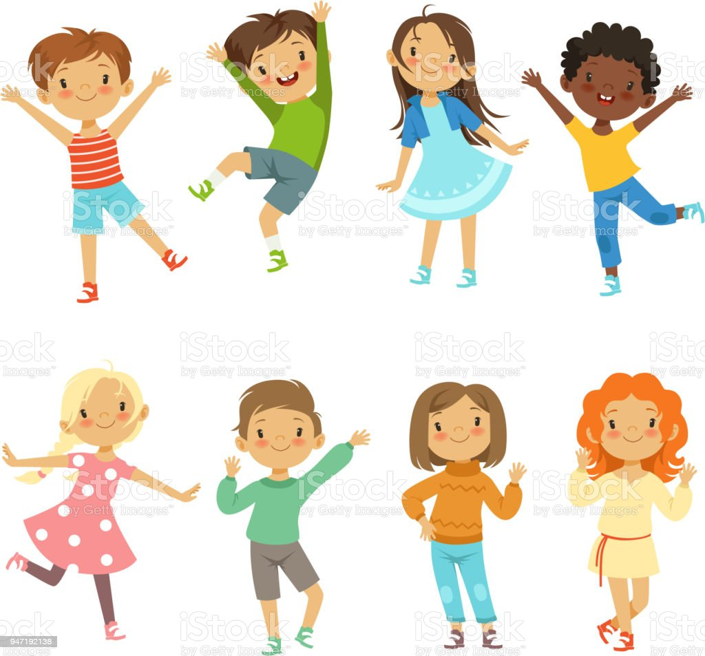 Childrens playing. Vector funny characters isolate on white childrens playing vector funny characters isolate on white - immagini vettoriali stock e altre immagini di adulto royalty-free