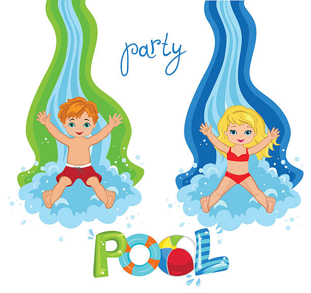Best Inflatable Slide Illustrations, Royalty-Free Vector ...