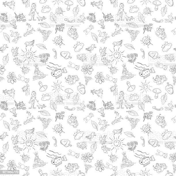 Childrens seamless pattern in sketch style white background vector id921956770?b=1&k=6&m=921956770&s=612x612&h=gq3jpx 28s9kedaxppxtv2xrhjn74u flcnkwda36sq=