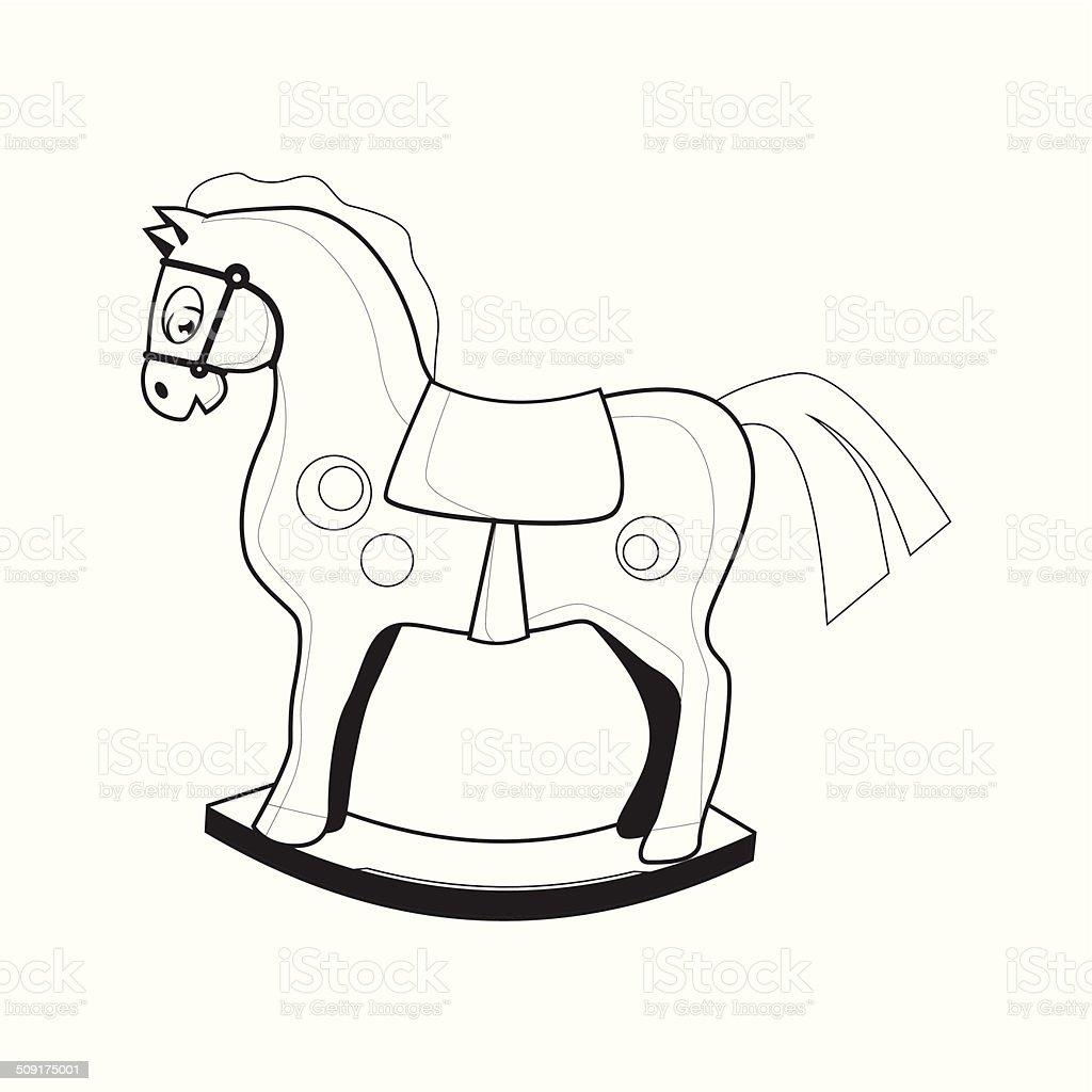Children's toy. Icon. Vector illustration. vector art illustration