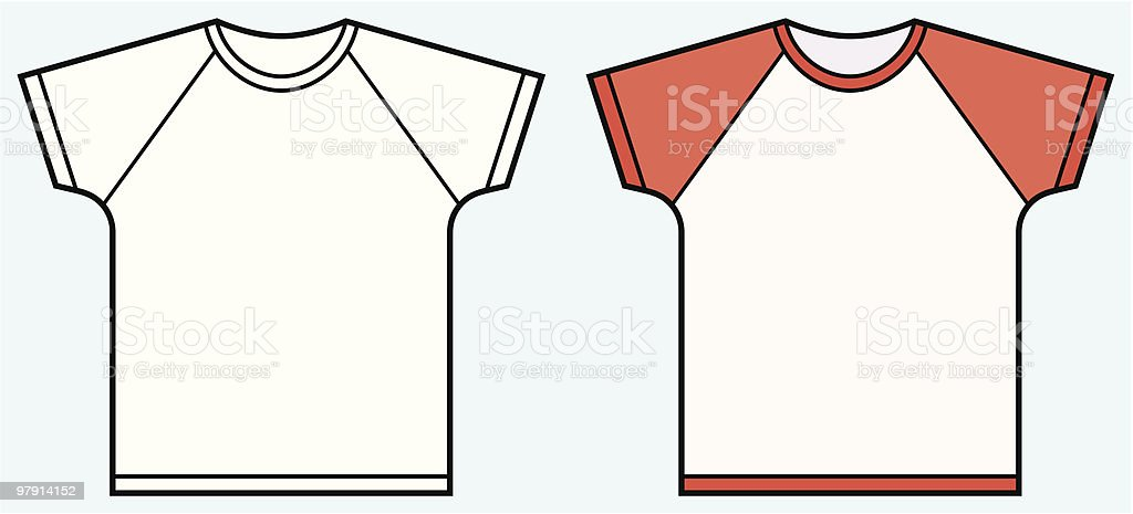 Children's t-shirt royalty-free childrens tshirt stock vector art & more images of blank