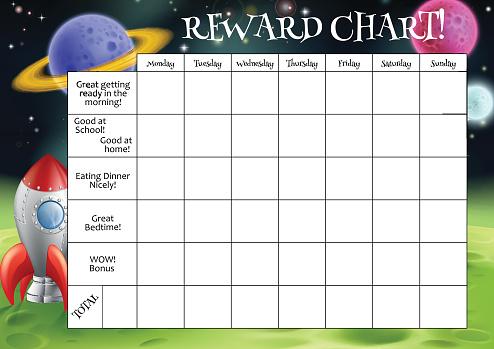 Childs Reward or Chore Chart