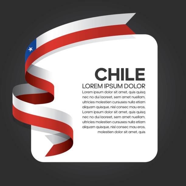 ilustraciones, imágenes clip art, dibujos animados e iconos de stock de fondo de bandera de chile - bandera de chile