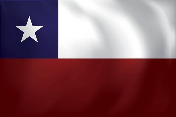 チリ国旗 - チリの国旗点のイラスト素材/クリップアート素材/マンガ素材/アイコン素材