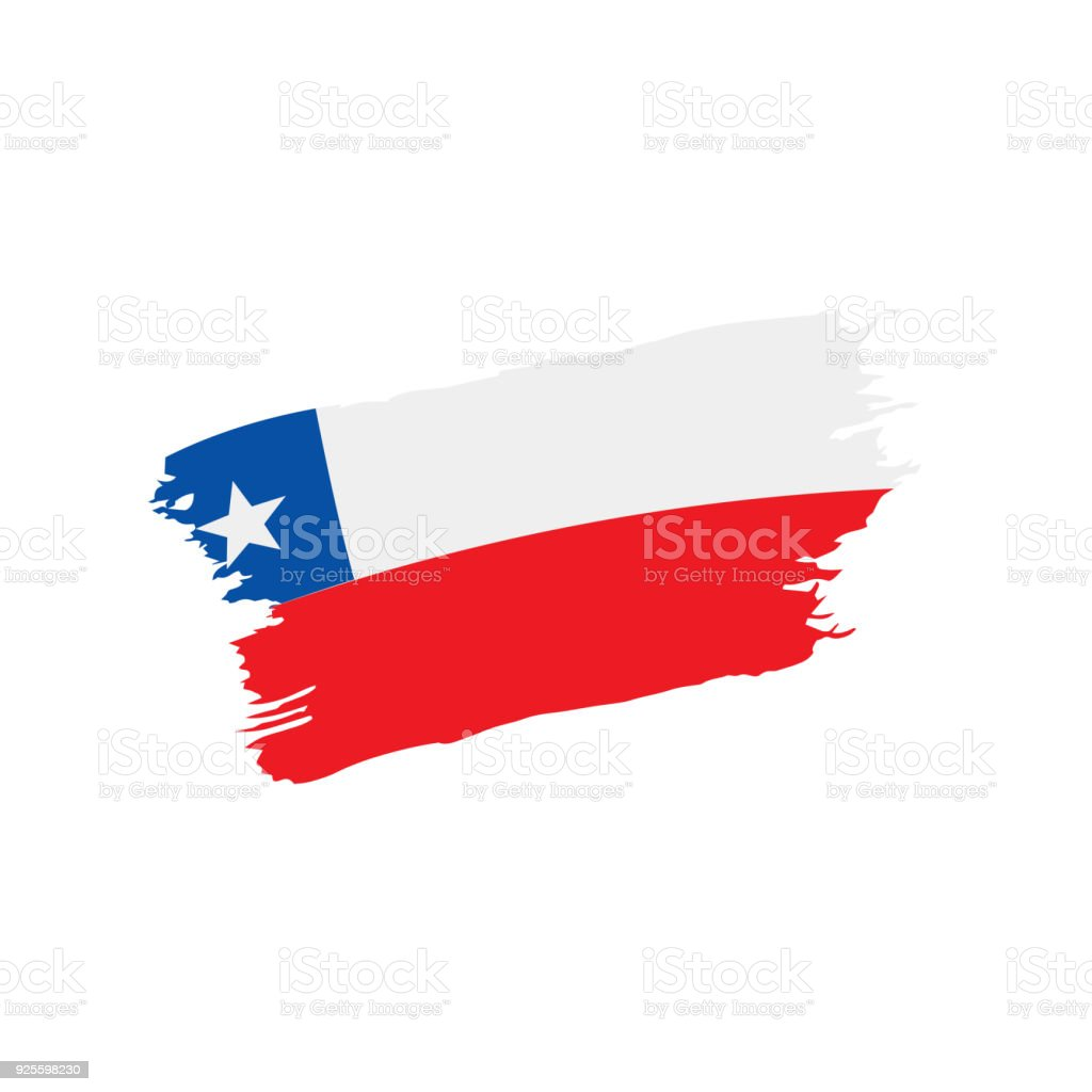 チリの国旗ベクトル イラスト - ...