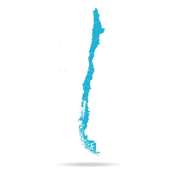 40 - şili - lav mavi boş q10 - şili stock illustrations