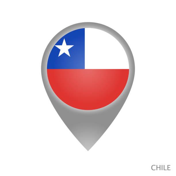 ilustraciones, imágenes clip art, dibujos animados e iconos de stock de punto de chile - bandera de chile