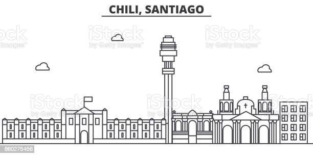 Chile santiago architecture line skyline illustration linear vector vector id860275456?b=1&k=6&m=860275456&s=612x612&h=hb6co4yjqujb8xfjz6mya5dlw6haqsfeqfifgnikn08=