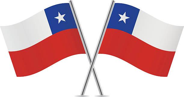 チリ国旗。ベクトルます。 - チリの国旗点のイラスト素材/クリップアート素材/マンガ素材/アイコン素材