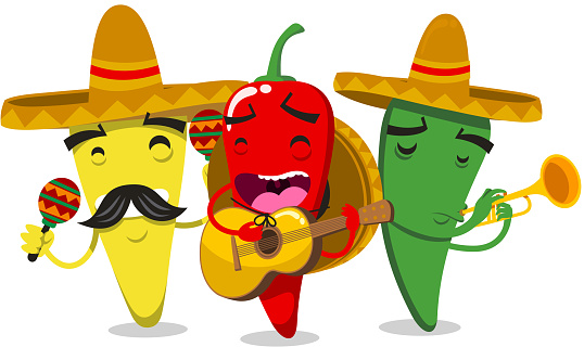 Chili Pepper Mariachi Mariachilis