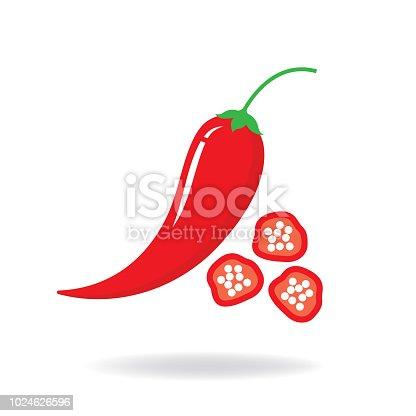 chili pepper. eps 10 vector file