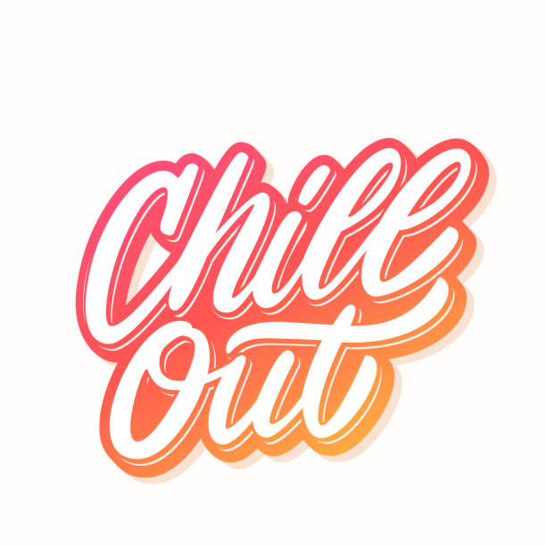 Best Chill Out Music Illustrations, Royalty-Free Vector